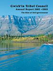 GSCI Annual Report, 2002/2003 Report Cover