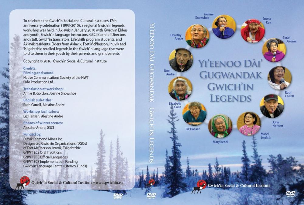 Yi'eenoo Dai' Gugwandak: Gwich'in Legends DVD cover