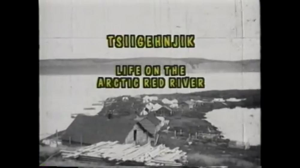 Life Along the Arctic Red River video still