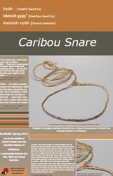 Caribou Snare Poster