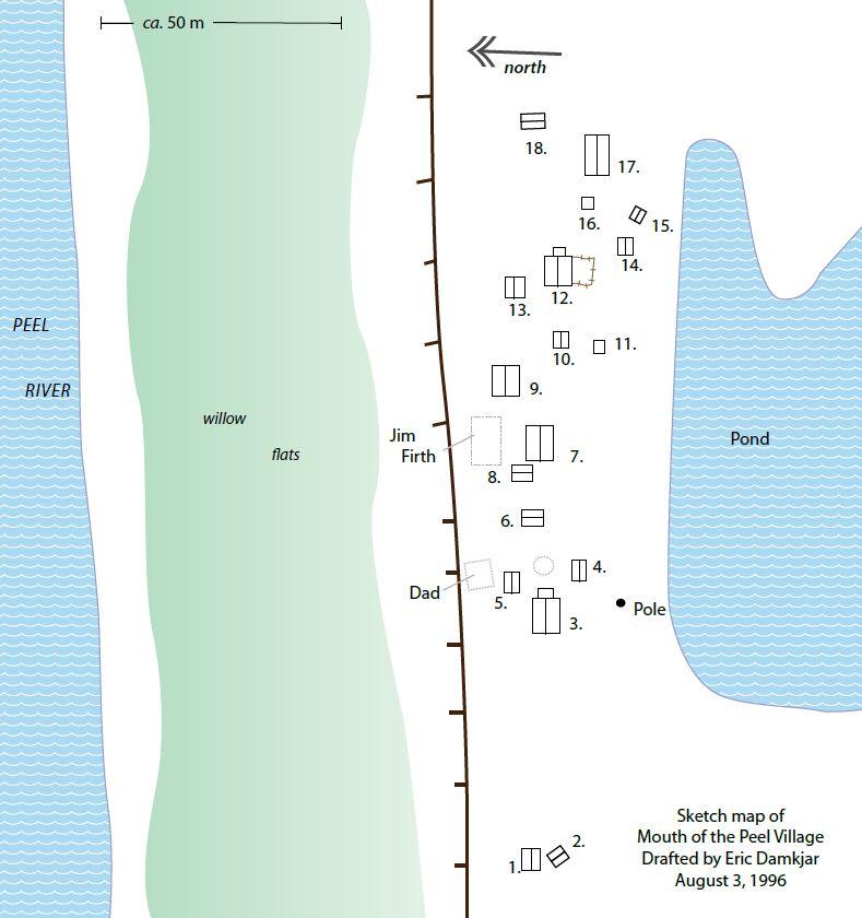 Mouth of the Peel Village (Nagwichoo tshik)