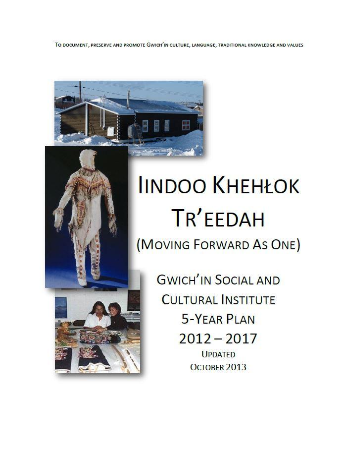 Iindo Khehlok Tr'eedah: Moving Forward As One Report Cover