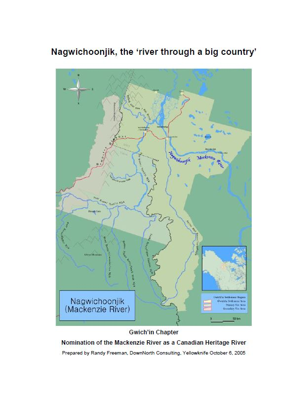 Nagwichoonjik, the 'river through a big country' report cover